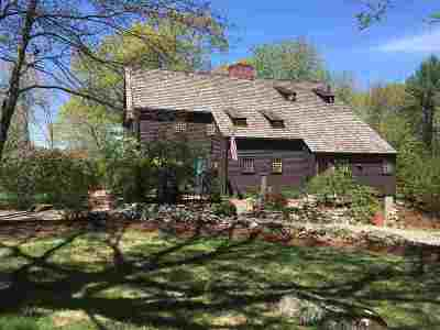 Amherst Single Family Home For Sale: 14 Walnut Hill Road