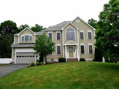 Nashua Single Family Home Active Under Contract: 8 Wild Rose Drive