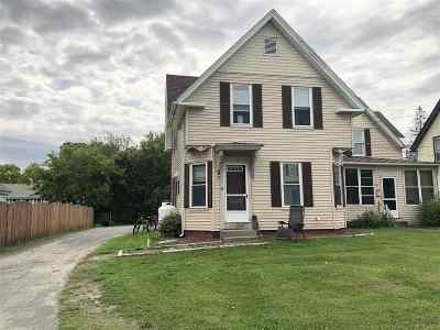 Haverhill NH Single Family Home For Sale: $92,500