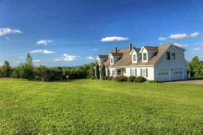 Wolcott Single Family Home For Sale: 2008 Elmore Pond Road