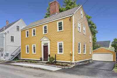 Portsmouth Single Family Home For Sale: 47 Langdon Street