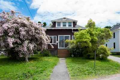 Single Family Home For Sale: 1008 South Street