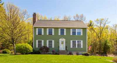 Hooksett Single Family Home Active Under Contract: 35 Virginia Court
