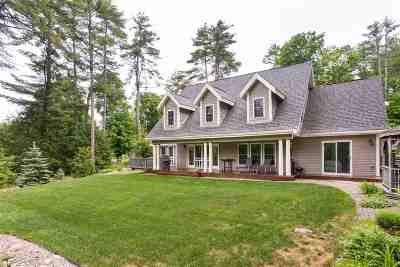 Moultonborough Single Family Home For Sale: 9 Clubhouse Drive