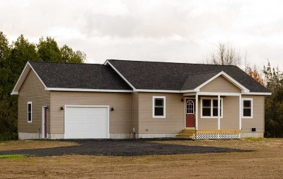 Hinesburg Single Family Home For Sale: Lot #1, 30 North Road