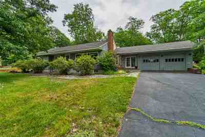 Manchester Single Family Home For Sale: 289 Tory Road