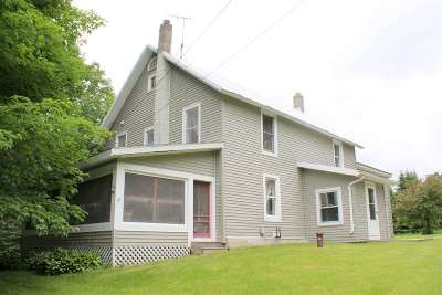Single Family Home For Sale: 6441 Vt Route 78 Route