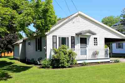 St. Albans City Single Family Home Active Under Contract: 22 Thorpe Avenue