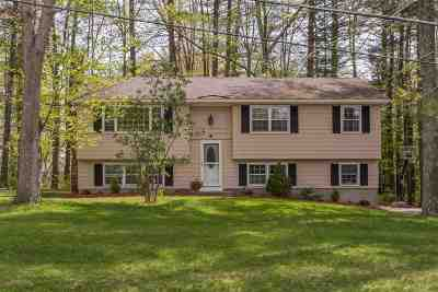 Merrimack Single Family Home Active Under Contract: 11 Brookside Drive