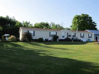 Swanton Single Family Home For Sale: 109 Woods Hill Road