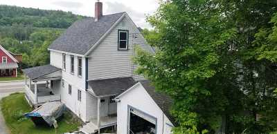 Littleton NH Single Family Home For Sale: $144,000