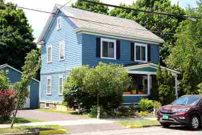 Burlington Single Family Home For Sale: 33 North Willilams Street