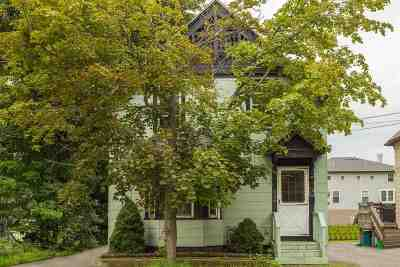 Single Family Home For Sale: 239 Cass Street