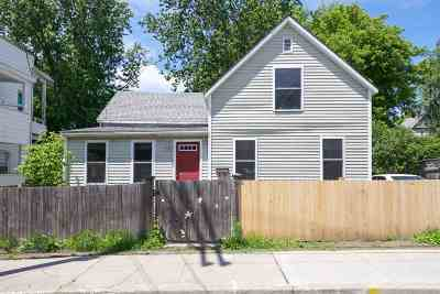 Winooski Single Family Home Active Under Contract: 21 West Lane