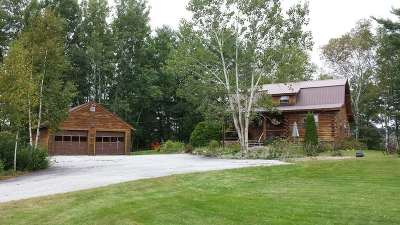 Whitefield Single Family Home For Sale: 24 Log Cabin Road