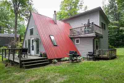 Hinesburg Single Family Home Active Under Contract: 172 Sunset E Lane