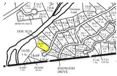 Thornton Residential Lots & Land For Sale: Homesite No. 2 Doe Run