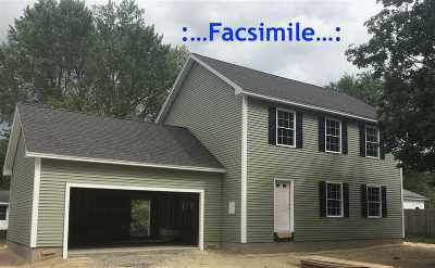 Goffstown Single Family Home Active Under Contract: Lot 33-24-1 W Union Street #33-24-1
