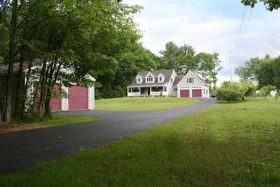 Rochester Single Family Home For Sale: 981 Salmon Falls Road