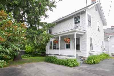 Montpelier Single Family Home Active Under Contract: 158 Main Street #Unit 1
