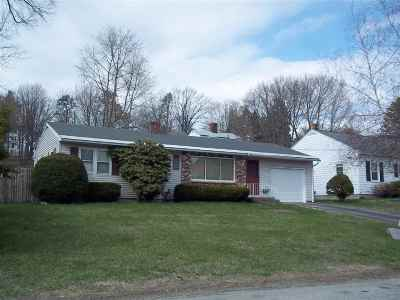 Manchester Single Family Home For Sale: 574 Central Street