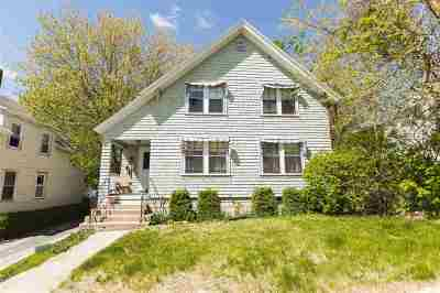 Manchester Single Family Home For Sale: 544 Spruce (Upper) Street