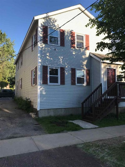 Burlington Multi Family Home For Sale: 362 North Winooski Avenue