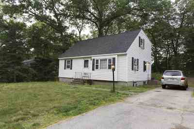 Merrimack Single Family Home Active Under Contract: 28 Back River Road