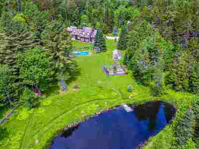 Stowe Single Family Home For Sale: 158 Needle Leaf Lane