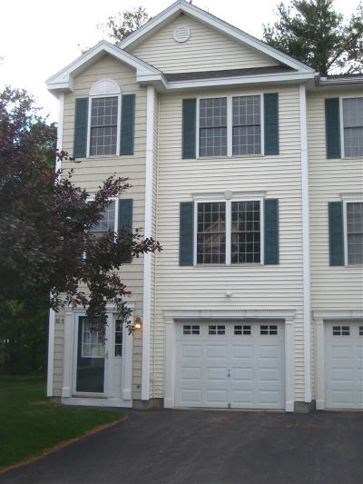 Concord NH Condo/Townhouse For Sale: $199,900