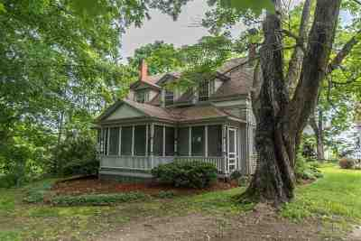 Milford Single Family Home For Sale: 60 Center Road