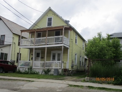 Rutland, Rutland City Multi Family Home For Sale: 61 School Street