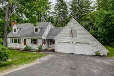 Goffstown Single Family Home For Sale: 73 Wallace Road