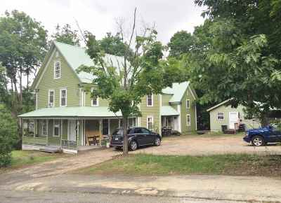 Franklin Multi Family Home For Sale: 4-10 Pleasant Street