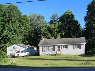Castleton Single Family Home Active Under Contract: 551 Rt 4a West Street