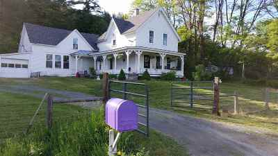 Bradford Single Family Home For Sale: 136 Old Route 5