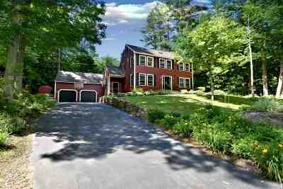 Gilford NH Single Family Home For Sale: $499,900