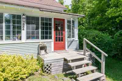 Ferrisburgh Single Family Home For Sale: 354 Quaker Street