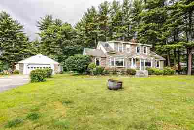 Goffstown Single Family Home For Sale: 492 Mast Road