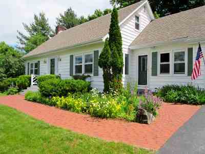 Middlebury Single Family Home Active Under Contract: 287 Rolling Acres