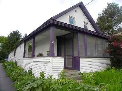 Winooski Single Family Home For Sale: 34 North Street