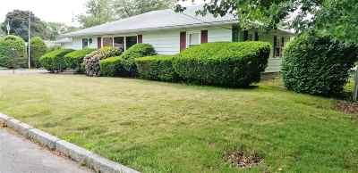 Manchester Single Family Home Active Under Contract: 26 Fremont Street