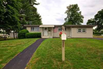 Manchester Single Family Home For Sale: 95 Roycraft Road