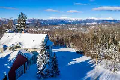 Stowe Single Family Home For Sale: 103 Pinnacle Meadow Road