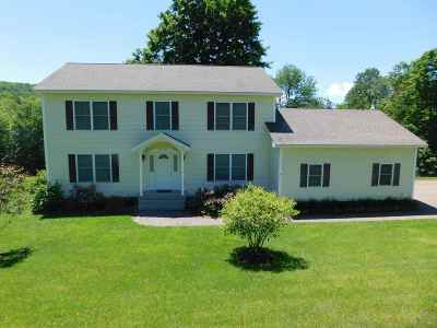 Fletcher VT Single Family Home For Sale: $310,000