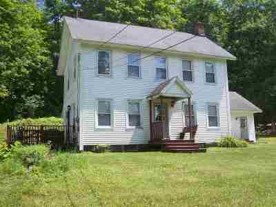 Castleton Single Family Home For Sale: 2940 Vt Route 30 Road