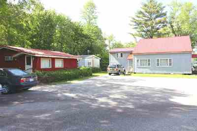 Lincoln Single Family Home For Sale: 392,394,396 Route 3