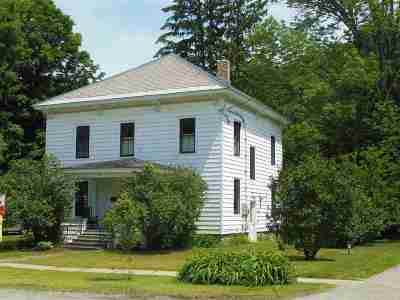 Bristol Single Family Home Active Under Contract: 52 East Street