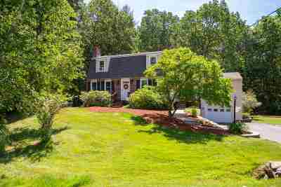 Stratham Single Family Home Active Under Contract: 9 Birnum Woods Road
