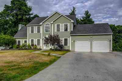 Hooksett Single Family Home Active Under Contract: 19 Stirling Avenue